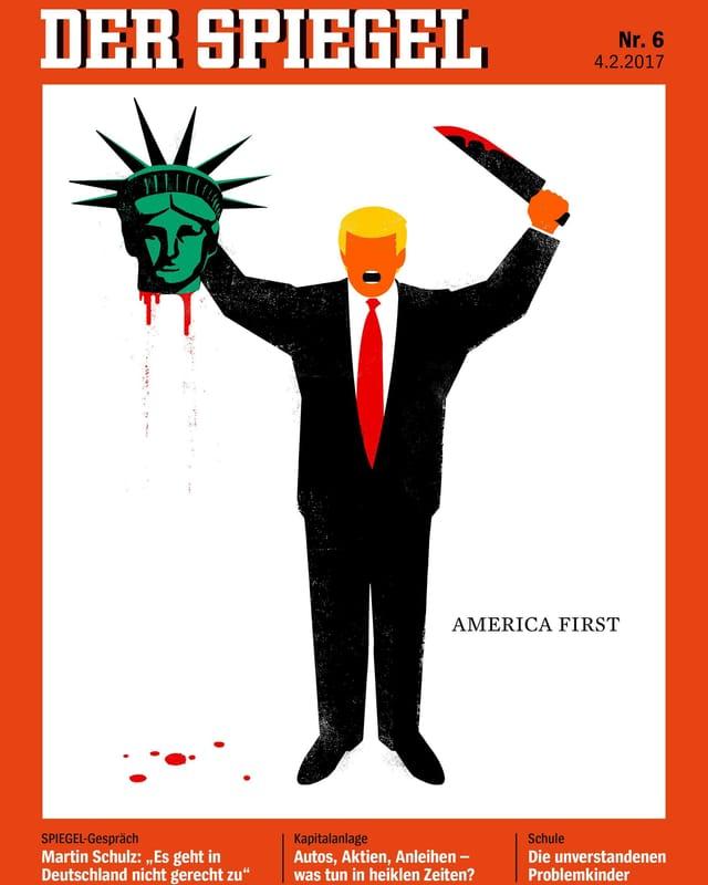 Die Titelseite der neuen Ausgabe von «Der Spiegel»