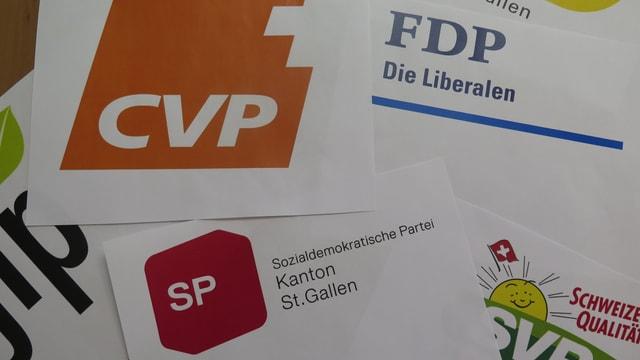 Parteienlogos