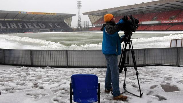 Das Spiel zwischen Nordirland und Russland musste erneut abgesagt werden.