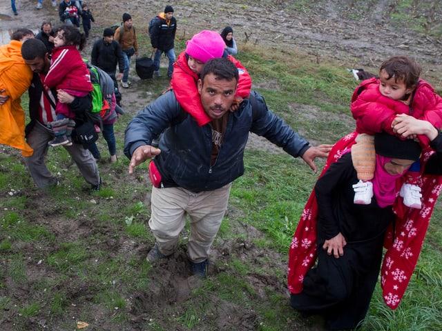 Flüchtlinge.
