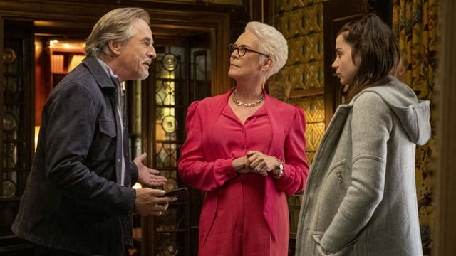Don Johnson mit Jamie Lee Curtis und Ana de Armas in «Knives Out».