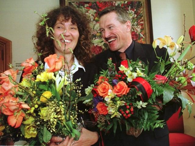 Porträt Barbara Egger, Werner Luginbühl.