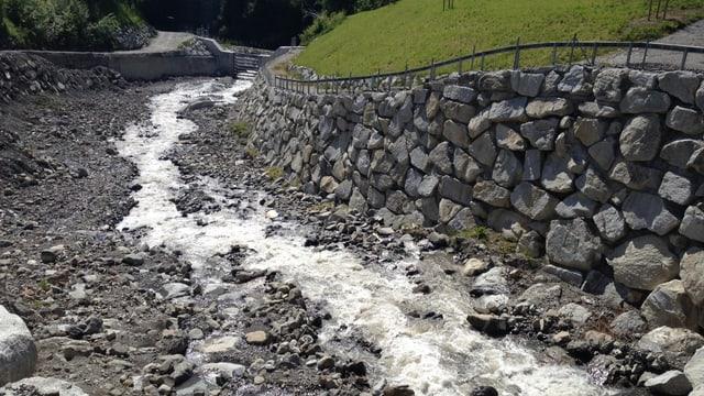 Die neuen baulichen Massnahmen sollen weitere Hochwasser verhindern.