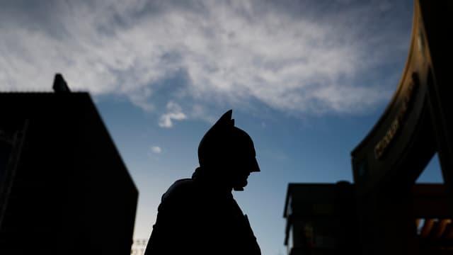 Batman ist auch in Basel.