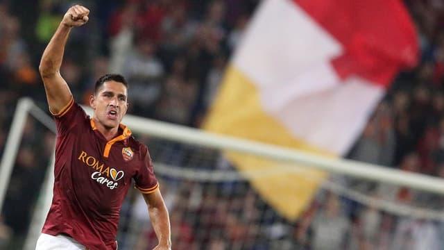 Marco Borriello erzielte den Siegtreffer für die AS Roma gegen Chievo Verona.