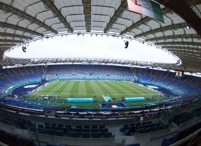 Das Römer Olympiastadion.