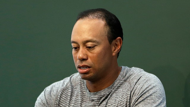 Star da golf, Tiger Wood.