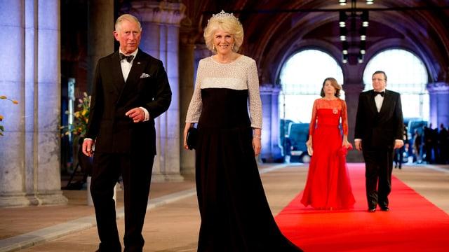 Prinz Charles und seine Gattin Camilla