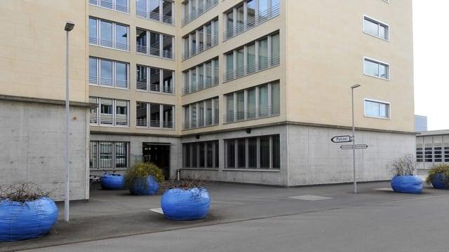 Gebäude der Zuger Polizei