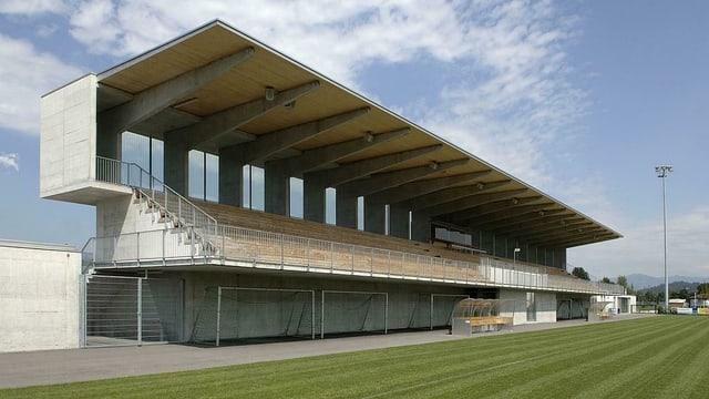 Stadion Grünfeld des FC Rapperswil-Jona