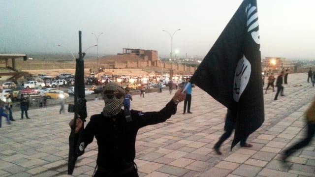 Ein IS-Kämpfer in Mossul.