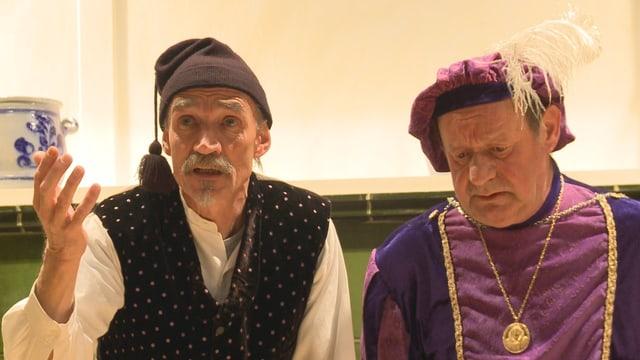 La gruppa da teater da Müstair ha preschentà ier saira il toc Chalavaina da Tista Murk.