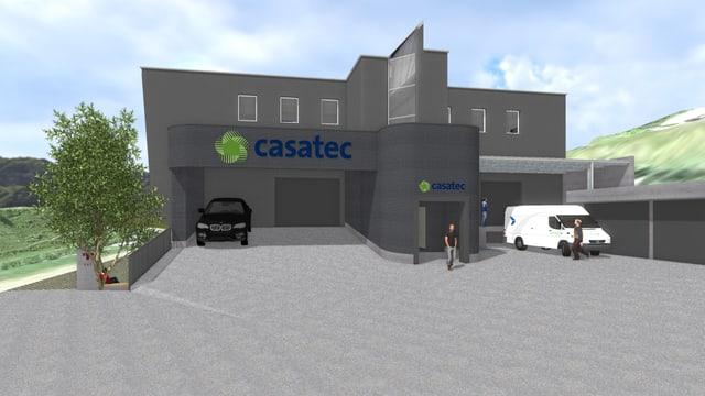 Las entradas ston vegnir optimadas. Tant per Casatec SA sco era per ils auters locataris.