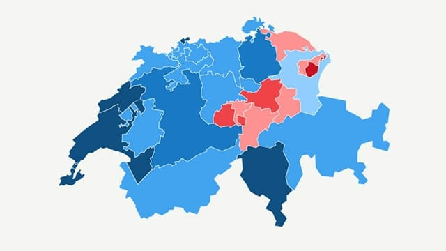 Über 60 Prozent Ja-Stimmen für das Covid-19-Gesetz
