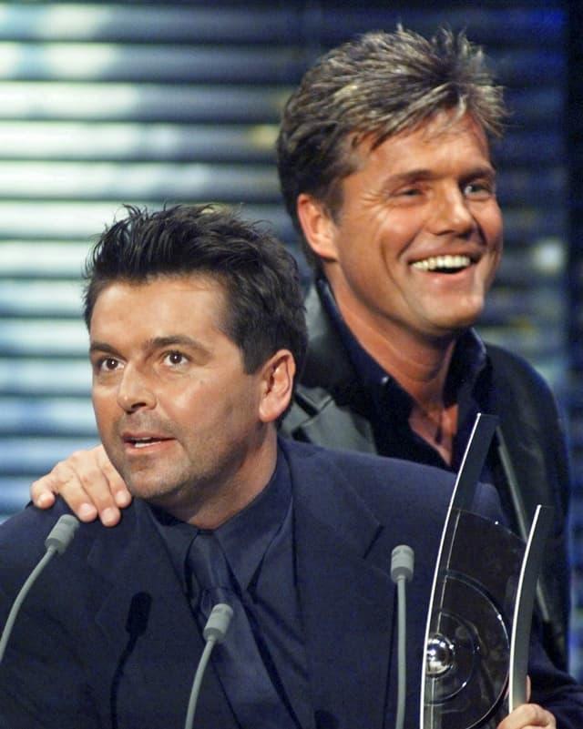 Pop-Duo erhält Auszeichnung.