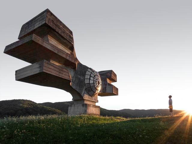 Monument Podgaric, Kroatien