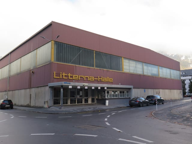 Litterna-Halle in Visp.