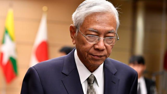 Htin Kyaw, Präsident von Myanmar