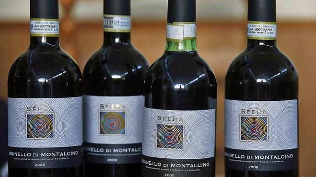 Wein-Flaschen