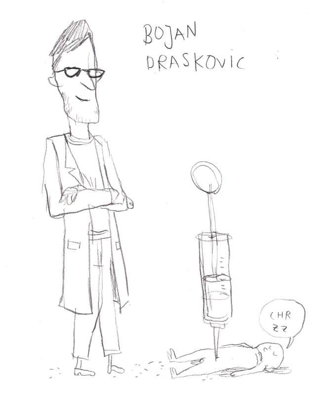 Anästhesist Dr. Bojan Draskovic.