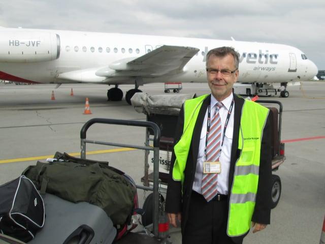 Stefan Bürgi ist Operationsmanager bei Swissport