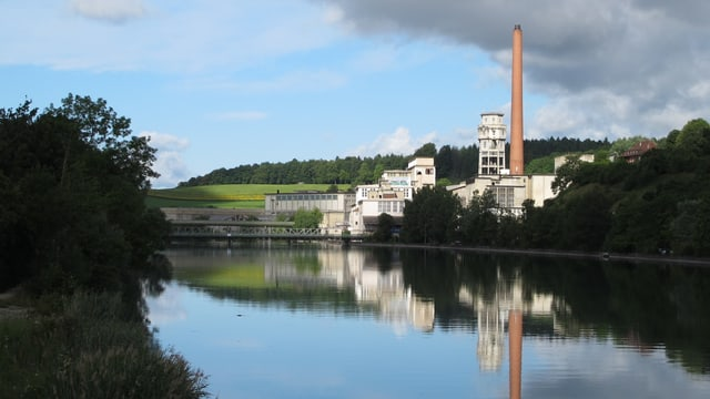 Fabrikgelände am Aareufer