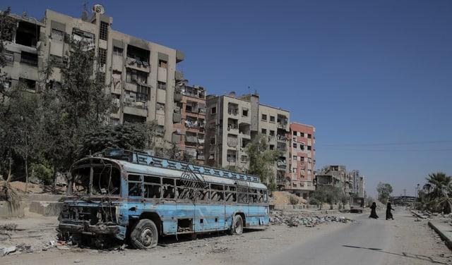 Syrien – seit acht Jahren Krieg