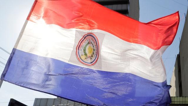 La bandiera da Paraguay