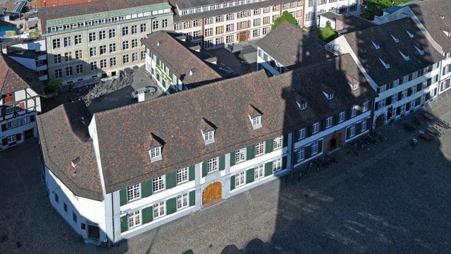 Gymnasium am Münsterplatz, Aufnahme von oben