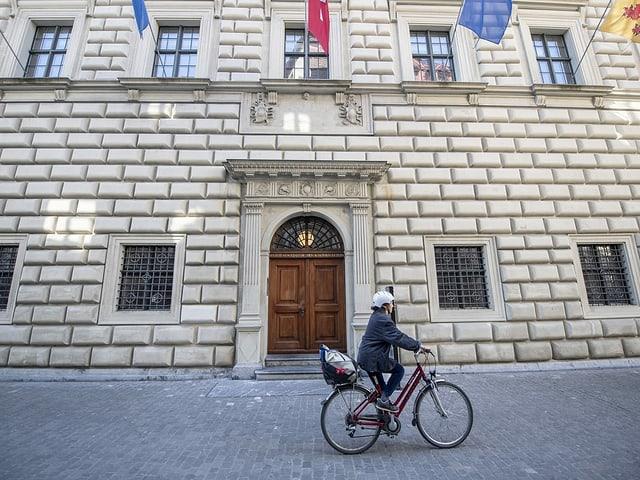 Das Regierungsgebäude des Kantons Luzern: