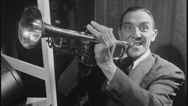 Wingy Manone und seine Trompete