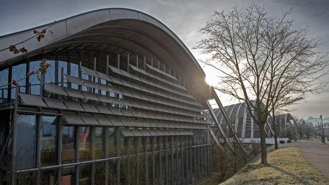 Aussenfassade des zentrums Paul Klee in Bern