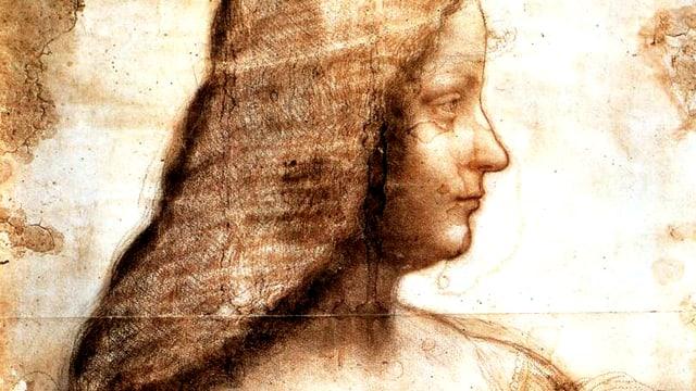 Zeichnung, Profil.