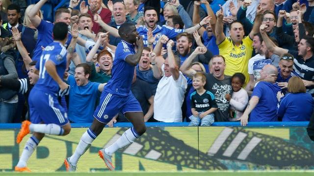 Zouma und Chelsea-Fans