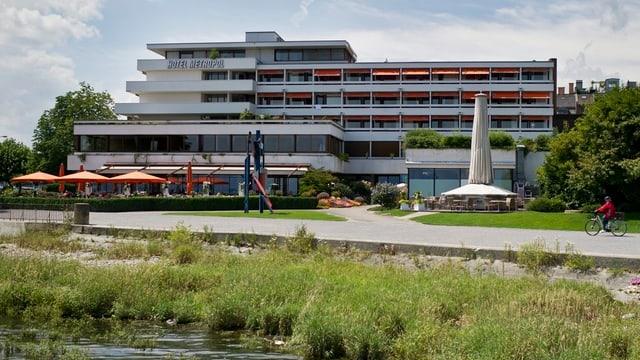 Hotel Metropol in Arbon aus den 60er-Jahren.