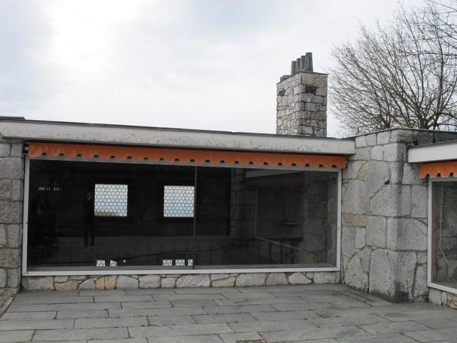 Stickereigebäude vor Renovation.
