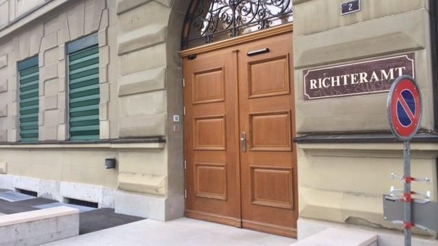 Eingang des Richteramtes in Olten.
