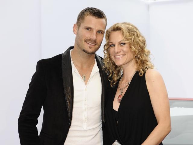 Martin Tomczyk und Christina Sure