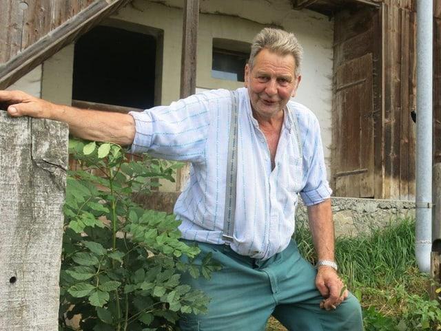 Bauer Joseph Raemy will Gemeindename Plaffeien behalten.