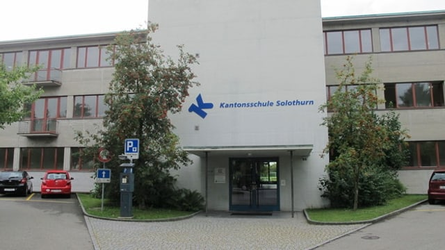Eingang Kantonsschule Solothurn