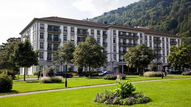 Gebäude des Grand Resort in Bad Ragaz.