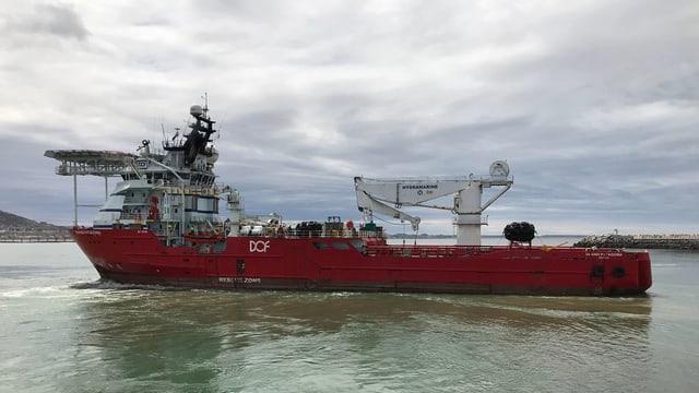 Inzwischen beteiligen sich 16 Schiffe an der internationalen Suchaktion.