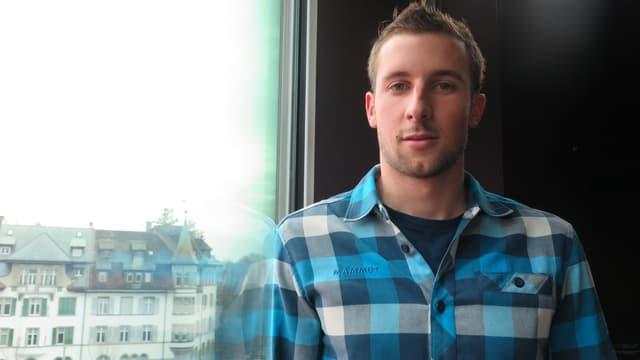 Der 25jährige Extrambergsteiger Nicolas Hojac