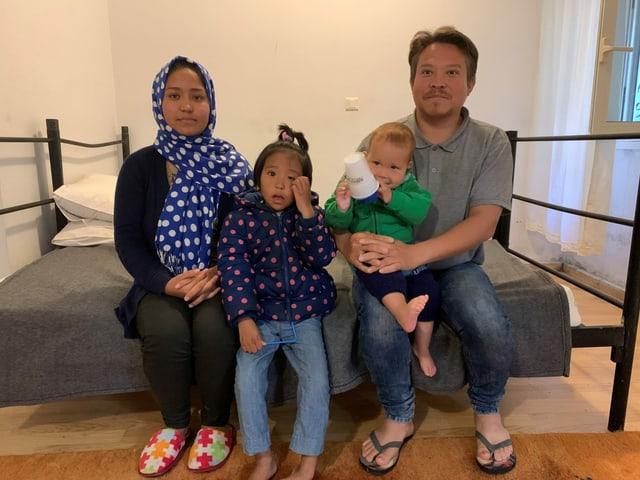 Die Familie Ahmadi