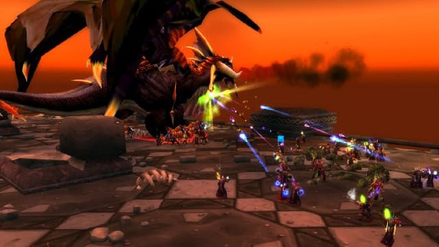 Ein Screenshot aus dem Online-Rollenspiel World of Warcraft.