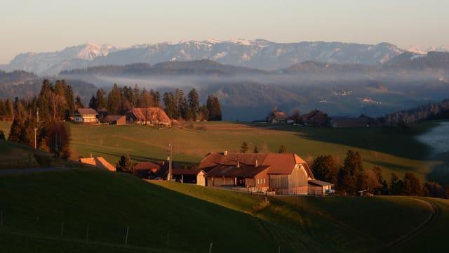Der Winter lässt sich momentan nicht blicken. Aufnahme von letzter Woche in Oberthal.