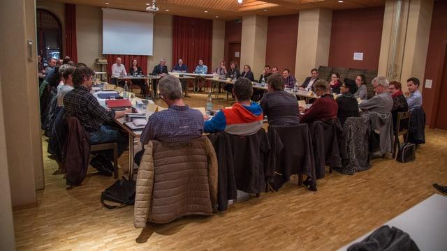 Il parlament da la vischnanca da Glion ha approvà mo ina part dal preventiv 2018.