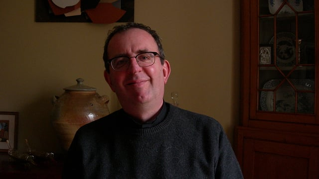 Richard Coles im Pfarrhaus