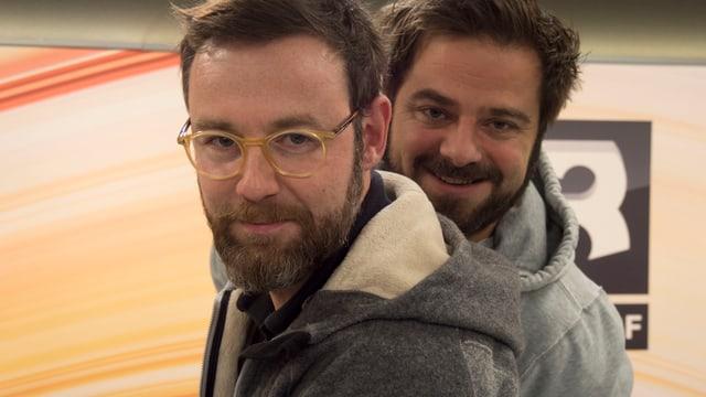 Nik Hartmann und Marco Thomann versüssen euch den Feierabend auf SRF 3.