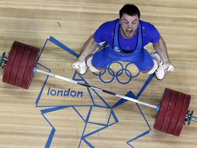 Olympiasieger Alexej Torochti.